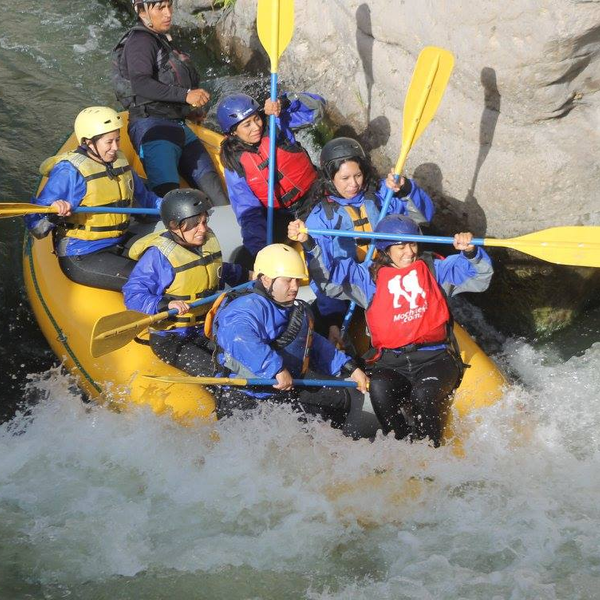 Rafting Rio Chili en Arequipa