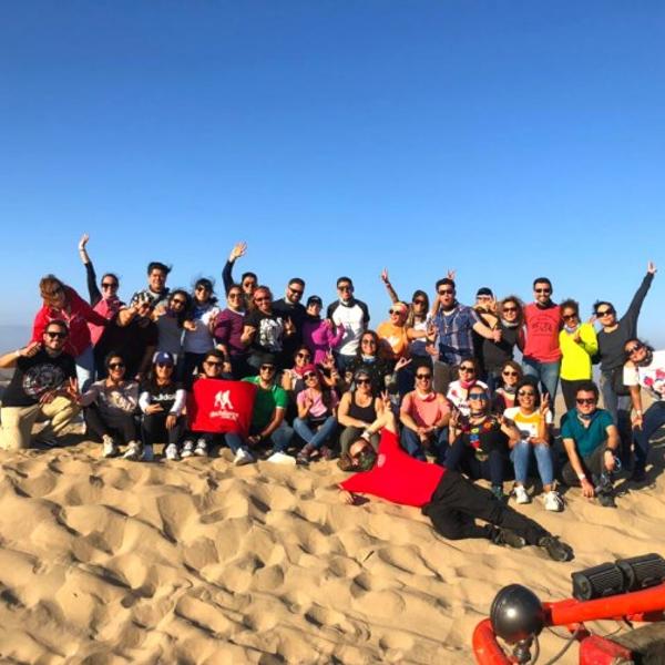 Buggy Tour-Sandboarding en desierto